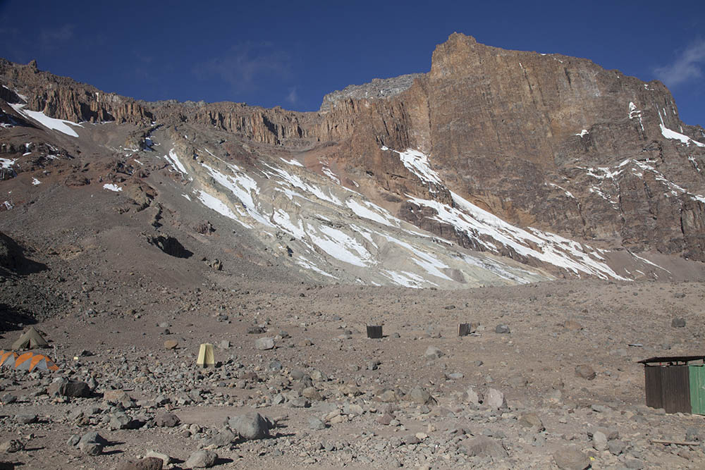 Arrow Glacier, Mt Kilimanjaro